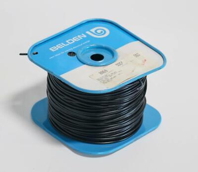 Belden 8869 Black High Voltage Lead Cable 500 Ft.