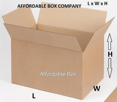 8 X 6 X 4 Quantity 25 Corrugated Shipping Boxes Local Pickup Only - Nj