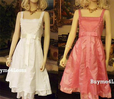 Victorian Medieval Renaissance Faux Silk Lace Chiffon Sexy Taffeta Peasant Dress