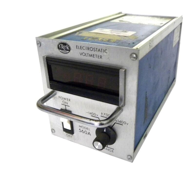 Trek 560A ESVM Electrostatic Voltmeter With Probe