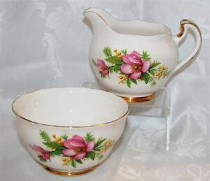 Regent Vintage Milk Jug and Sugar Bowl