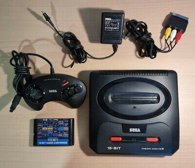 Sega Megadrive 2 avec 1 manette + cartouche 112 jeux
