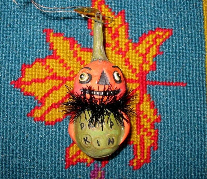 Bethany Lowe Halloween Tiny Little Ghoul Ornament Pumpkin Debra Schoch New