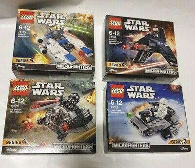 Lego Star Wars 75161 tie striker 75160 u-wing   75163 imperial shuttle & 75126