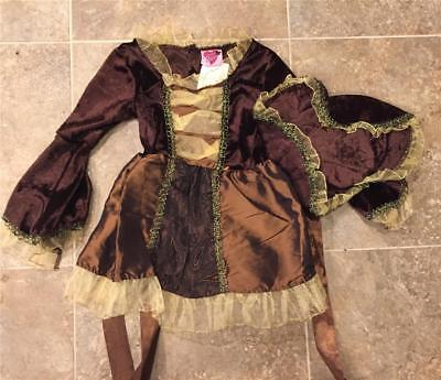 Miss Princess PIRATE GIRL Pirates of  ~ Dress-Up Costume ~ Girls  3-4 ~ NEW - Girl Pirates Costumes