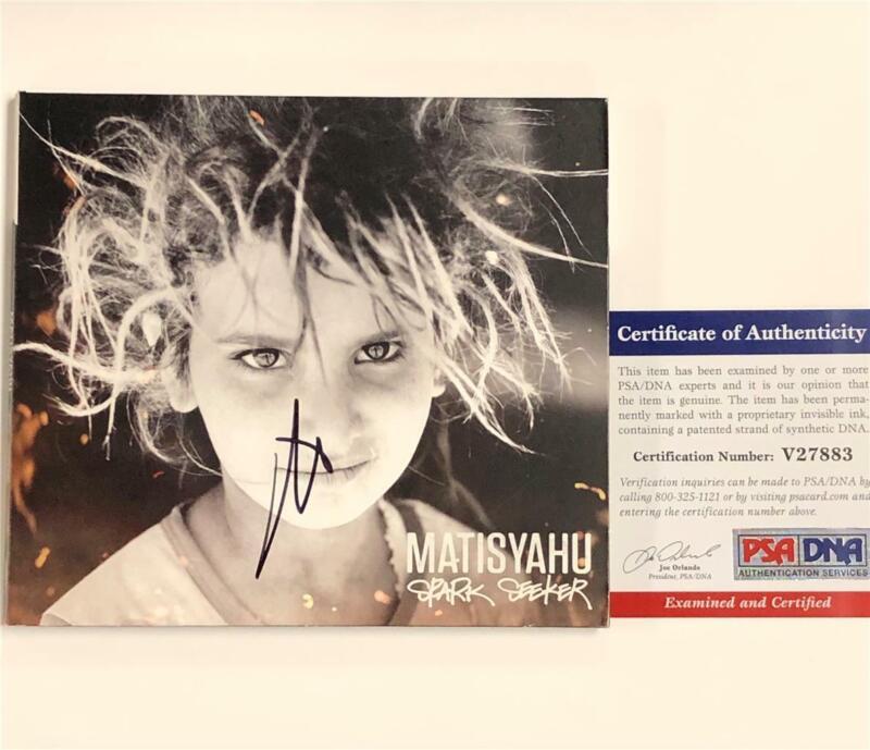 Matisyahu autograph signed Spark Seeker CD DigiPack cover PSA/DNA COA
