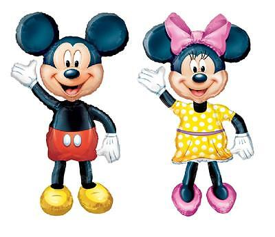 AIRWALKER BALLOONS disney MICKEY mouse MINNIE PARTY decoration birthday supplies on Rummage