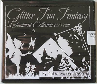 Debbi Moore Designs Glitter Fun Fantasy Enchantment Collection CD Rom (296979)
