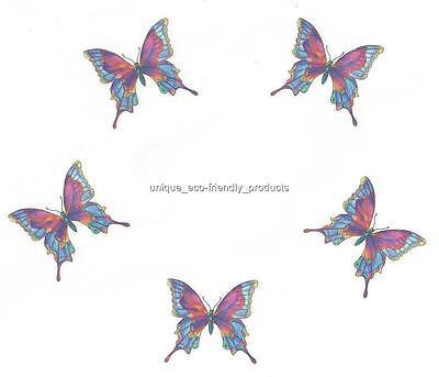 Temporary Rainbow Tattoos (LOT RAINBOW BUTTERFLY VERYY BEAUTIFUL Temporary Tattoo small)