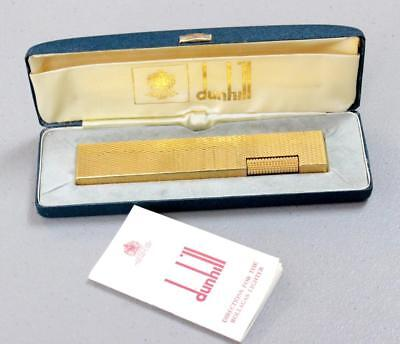 "Vintage Dunhill Rollagas ""Tallboy"" Lighter in Original Box"