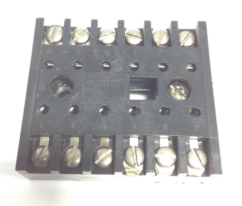 CUSTOM CONNECTOR CORP. RELAY SOCKET SD12 *PZB*