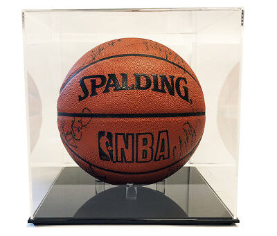 Ultra Max High Clarity Pro Deluxe Premium Basketball Display Case - UV