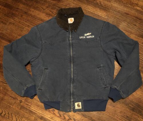 faded lined coat bomber jacket vintage distressed