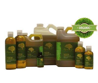 Liquid Gold Premium Neem Oil Pure & Organic For Skin Hair...