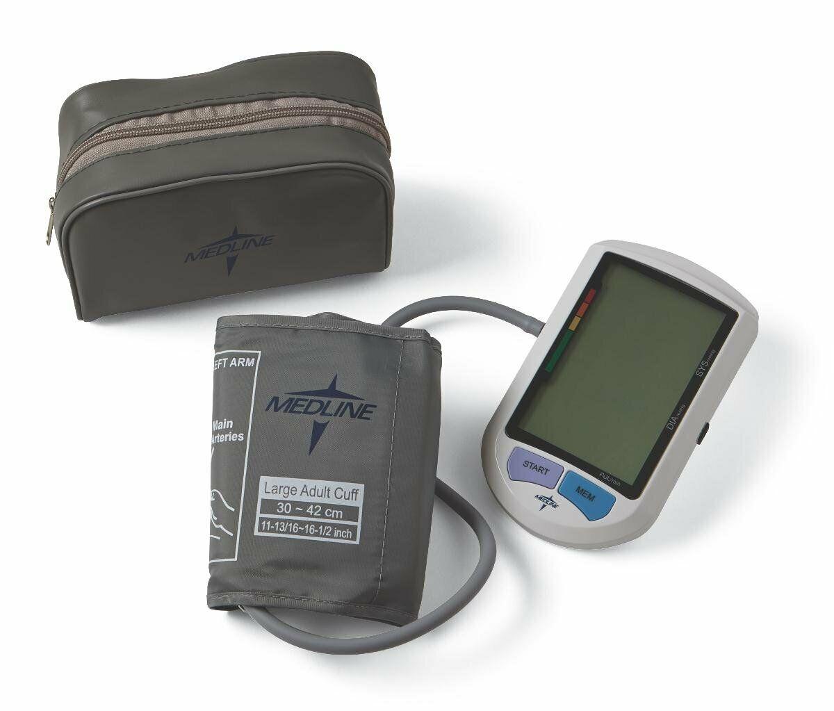 Medline MDS3001LA Adult Automatic Digital Blood Pressure Mon