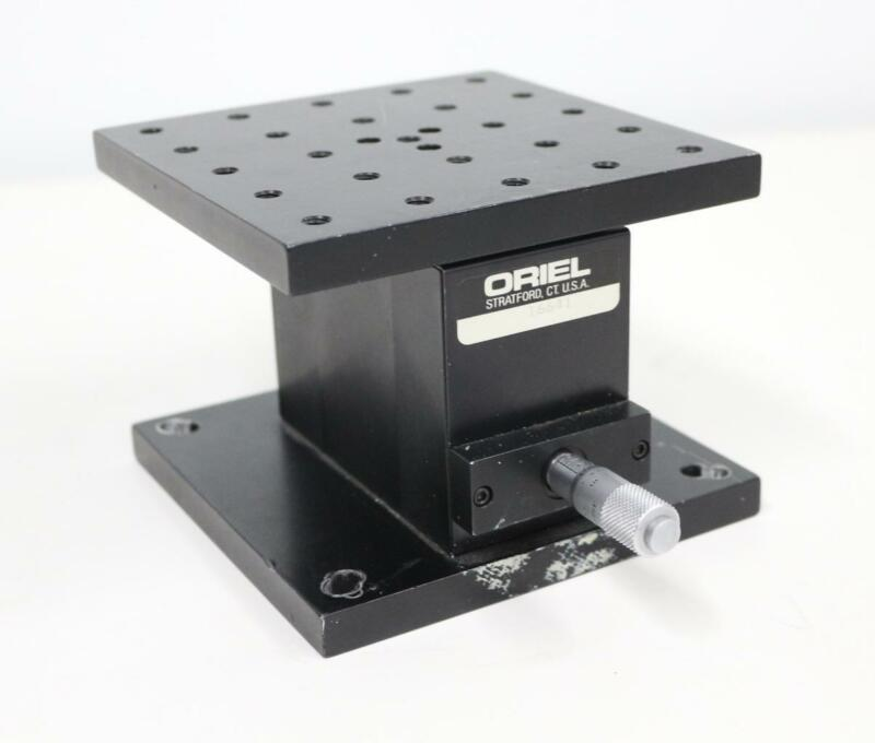 Oriel Instruments 16641 Manual Z-Axis Vertical Linear Stage