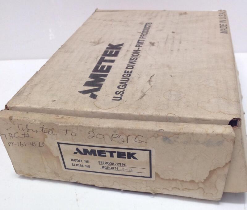 AMETEK 0-30PSI 12-40VDC 4-20mADC PRESSURE TRANSMITTER NIB 88F003A2CSPC