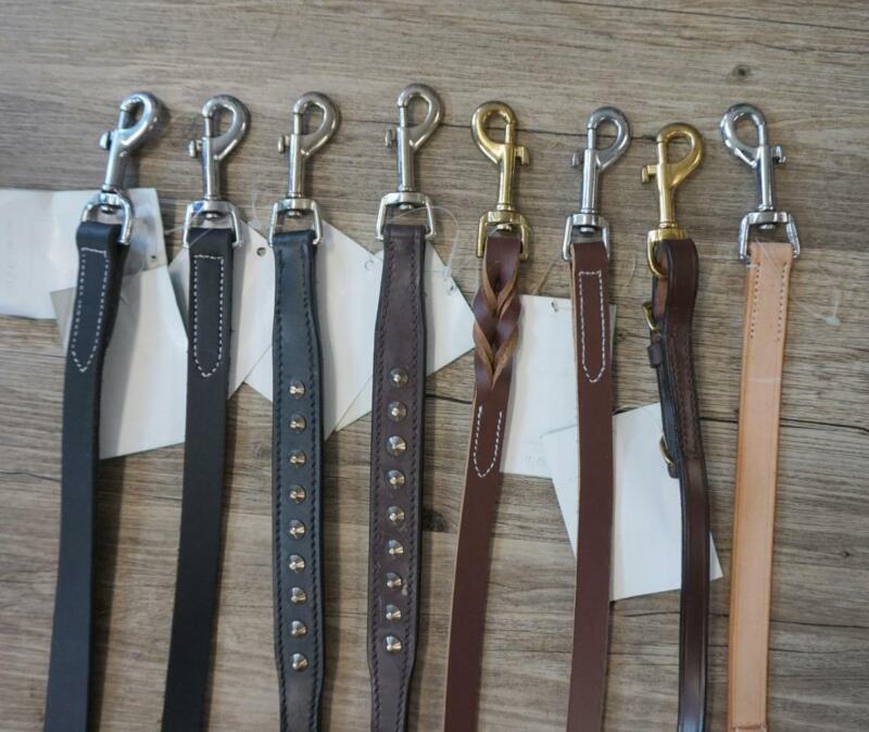 Wholesale Lot: Pet Supplies Store-Leather Dog lead/ Leash Lot of 25/ 50 Closeout