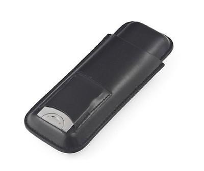 Orleans Group - Leather Cigar Case - Black FK-173 for AUCTION