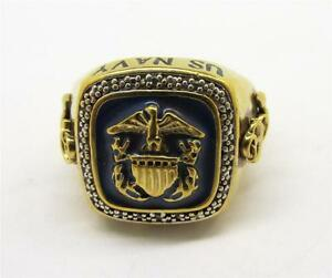Details about mens ring us navy Bradford exchange