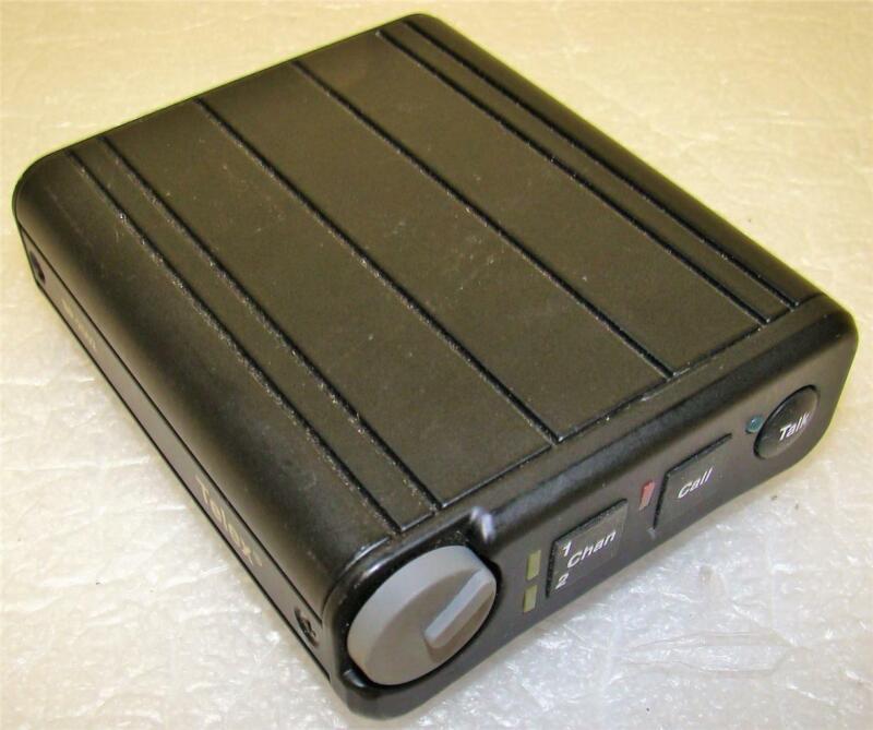 Telex BP-2002 2-Channel Intercom Beltpack Transceiver
