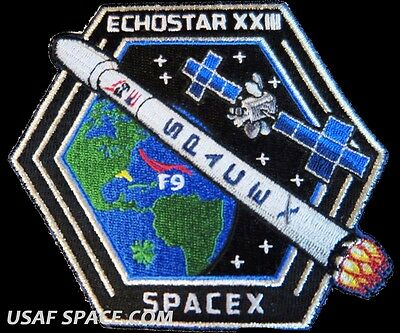 Echostar Xxiii 23   Spacex Original Falcon 9 Launch   Satellite Mission Patch