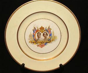 1937 King George VI & Queen Elizabeth Coronation Johnson Pareek Plate