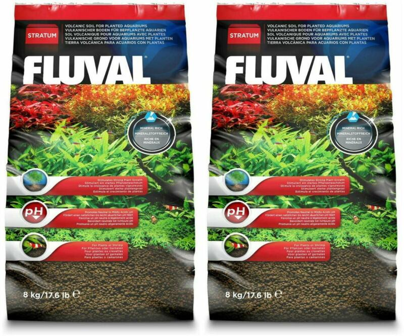 FLUVAL PLANT AND SHRIMP STRATUM 17.6 lb - 2 PACK