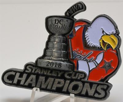 Secret Service 2018 Washington Capitols NHL Hockey Stanley Cup Champions