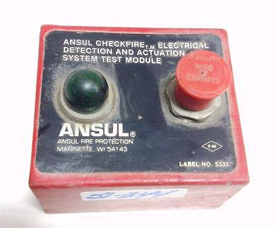 Ansul Fire Protection Checkfire Electrical Detection System Test Module Pzb