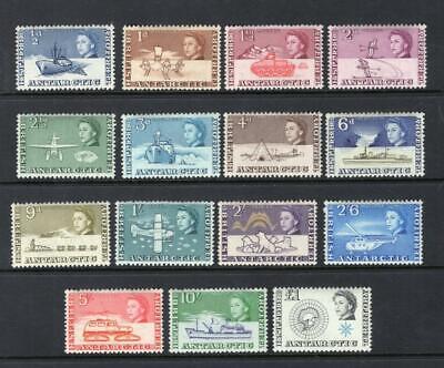 British Antarctic 1963 QEII Set - OG MLH - SC# 1-15  Cats $172.15   No Reserve!