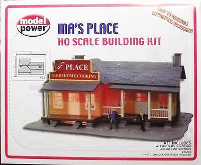 HO Gauge-Model Power-190-Ma's Place Home Cookin Model Kit-Molded in 8 Colors 8 Gauge Power Kit