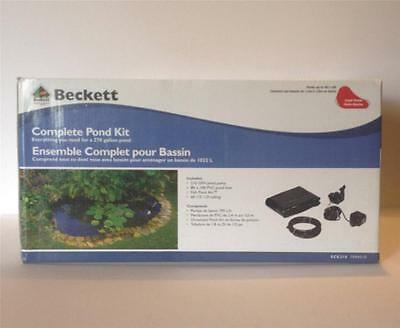 Beckett 5'x7' Diy Backyard Fish Pond Kit, Sck210 -water G...