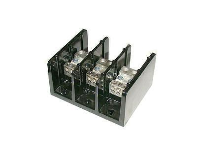 Marathon 3-pole Power Distribution Terminal Block Model 1433555