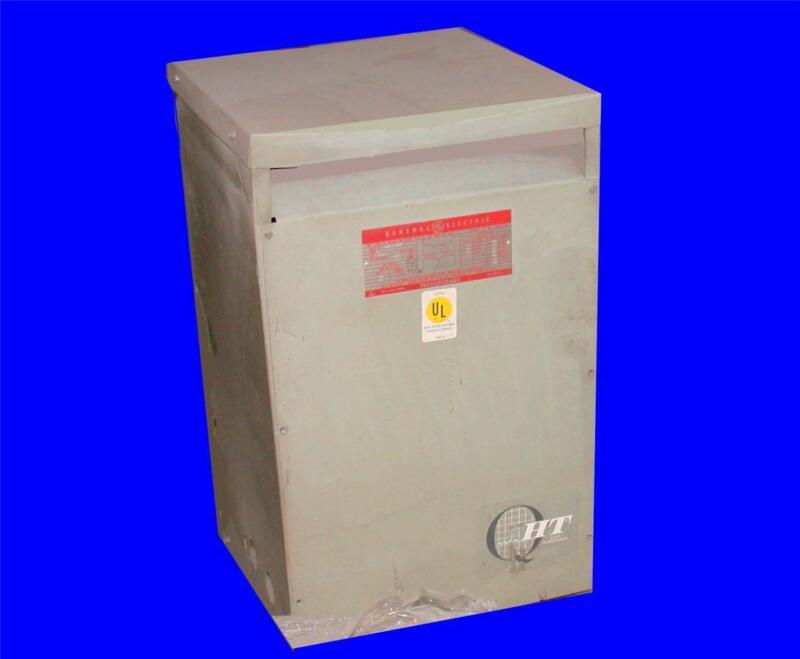 GE GENERAL ELECTRIC 37.5 KVA TRANSFORMER 9T23 B 2672