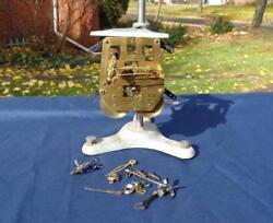 German Hamilton Shelf Mantle Clock Movement 4 73 Restore Repair Parts