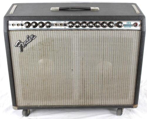 Vintage 1978 Fender Twin Reverb Electric Guitar Tube Amplifier Amp Combo