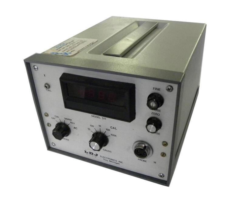 LDJ ELECTRONICS 511 GAUSSMETER WITHOUT PROBE HP-316-CP