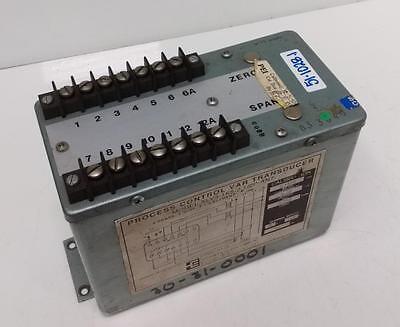Scientific Columbus Process Control Var Transducer Xlv3-1k5-2-12p-an7