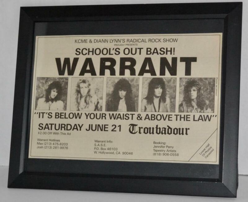 WARRANT 1986 SCHOOL