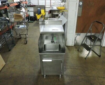 Commercial Stainless Steel 1-compartment Sink W Electric Faucet