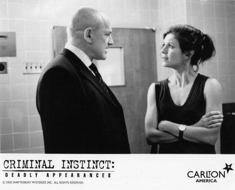 """Victor Garber, Wendy Crewson """"Criminal Instincts: Deadly Appearances"""" TV still"""
