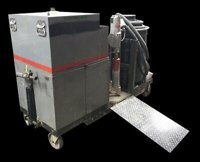 Milwaukee 4094 Dymodrill Core Drill Custom Cart With Water Tank Wet Dry Vac