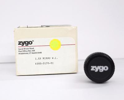 Zygo 6300-0170-01 1.5x Mirau W.l. Objective Lens