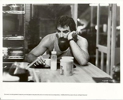 Tom Selleck face close up in 3 Men and a Baby 1987 original movie photo