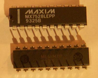 Mx7528lepp Digital To Analog Converters - Dac Cmos Dual Buffered 8-bit