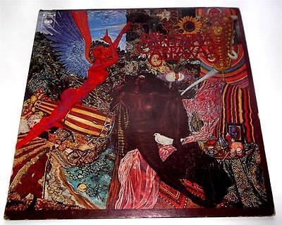 Santana   Abraxas  1977  Columbia Kc30130  Psych  Poster  Orig Press  Strong Vg