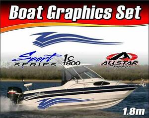 Boat-Graphic-Sticker-Kit-Vinyl-stripe-decal-for-Marine-or-Automotive-SS-1C1800
