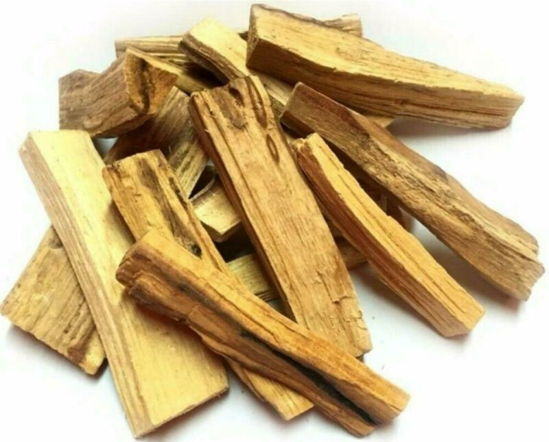 """Palo Santo Wood 10 Stick Lot, 5-6"""" long (Incense Smudging, Cleansing), from Peru"""