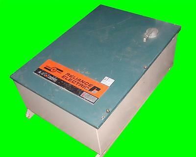 RELIANCE ELECTRIC 7.5 HP VS SPINDLE AC DRIVE MODEL IVT 4207, 3 PHASE - 460 VOLTS